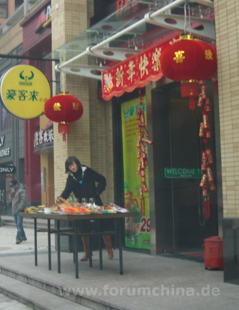 Frühlingsfest zum chinesischen Neujahr